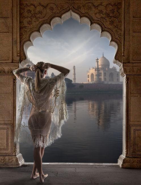 Despertar al Taj Mahal