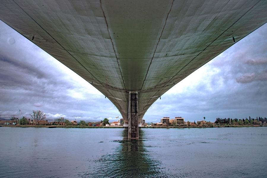 Sota el pont