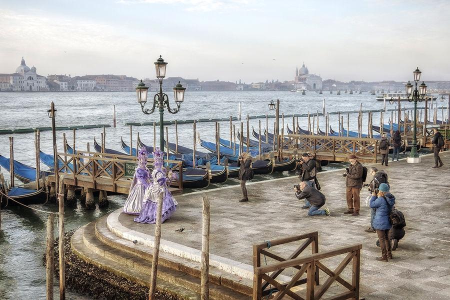 Fotógrafos en Venecia