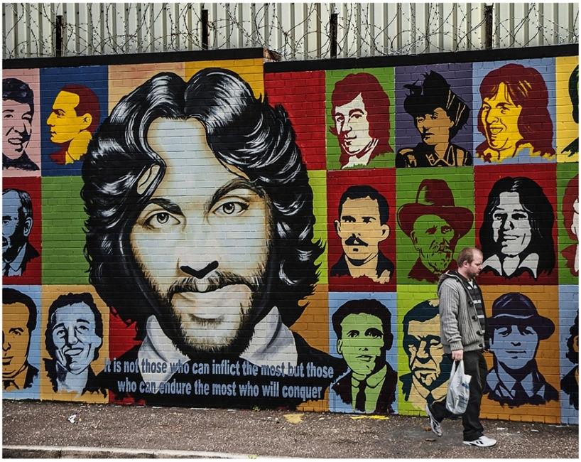 Mural a Belfast