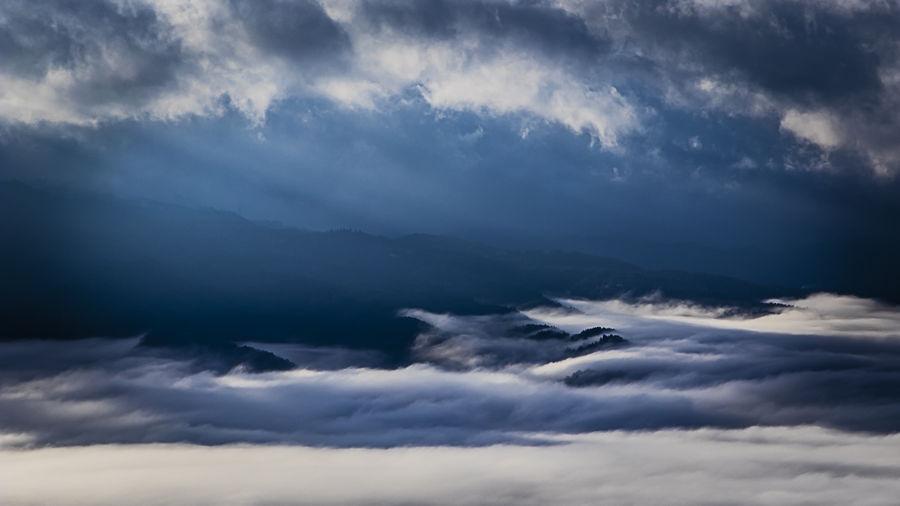 Núvols de tardor