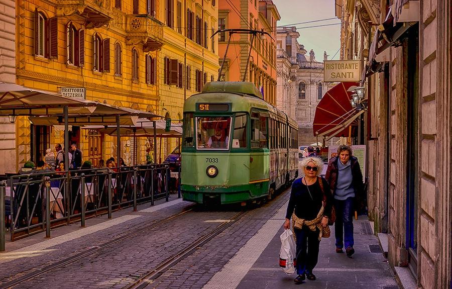 De compras per Roma