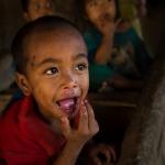 Enfant de Wan Nyat Birmanie