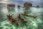 Medalla Or CEF. Danny Yen Sin W·ong. Malaísia. Sea gypsy of Malika Island