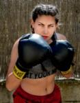 La Boxejadora d'ulls verds