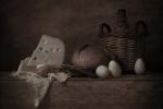 Bodegón con huevos