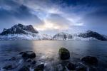 Rocher vert du fjord