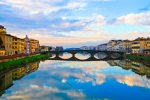 Reflexes Pont Trinita Florència