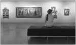 Contemplant l'art