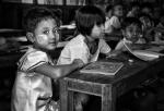 Niñas de Myanmar en la escuela