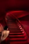 l escalier rouge