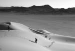 Caminata de arena