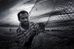 Medalla Or FCF. Arash Mahdavi. Iran. Face of fisherman